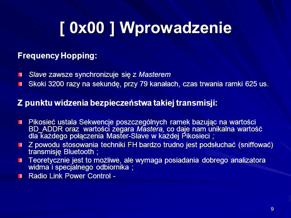 [ 0x00 ] Wprowadzenie Frequency Hopping: